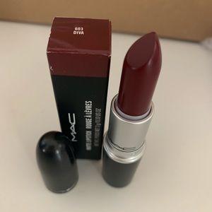 Mac lipstick color diva, never used.